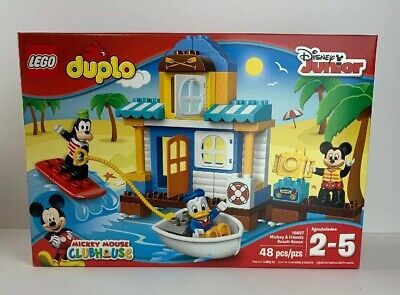 Lego Duplo Disney Junior 10827 Mickey Friends Beach House New Sealed Afflink Contains Affiliate Links When You Click On Links To Vari Lego Duplo Disney Mickey Mouse Clubhouse Disney Junior