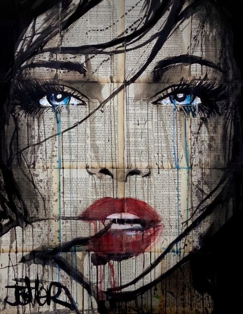 (CreativeWork) west coast by loui jover. drawing. Shop online at Bluethumb.
