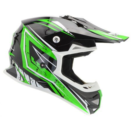 Childrens Kids MOTOCROSS style MX HELMET Off Road BMX Dirt Bike Quad