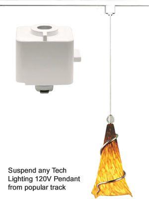 Tech Lighting 700td Track Adapter For Line