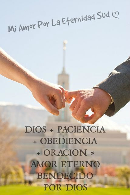 El Amor Es Eterno Masfe Fe Lds Jesucristo Mormon Sud