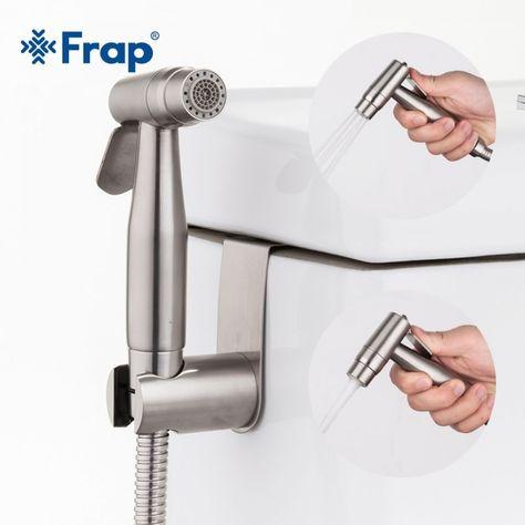 Handheld Two Function Toilet Bidet Stainless Steel Hand Faucet Sprayer For Bathroom Sprayer Shower Bidet Faucets Faucet Bathtub Accessories