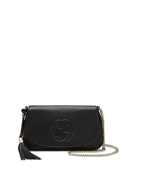 c72e16051de68c Gucci Soho Leather Shoulder Çanta - Siyah | New Arrivals | Gucci ...