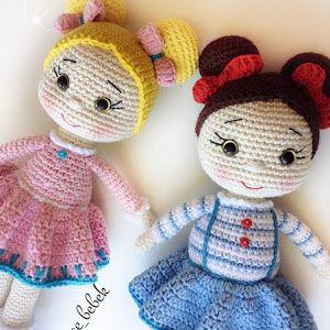TonTon Doll and Tilda Bunny Free English Pattern | Ücretsiz patron ... | 300x300
