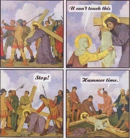 Old, but gold | Jesus jokes, Funny memes, Jesus memes