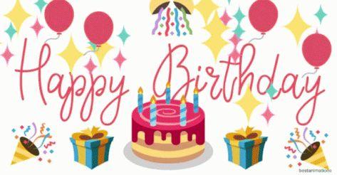 Happy birthday GIFs
