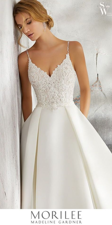 wedding dress disney Have you discovered the endless beauty of morileeofficial by madelinegardener Wedding Dress Tea Length, Cute Wedding Dress, Princess Wedding Dresses, Wedding Dress Styles, Dream Wedding Dresses, Bridal Dresses, Wedding Gowns, Backless Wedding, Kleinfeld Wedding Dresses