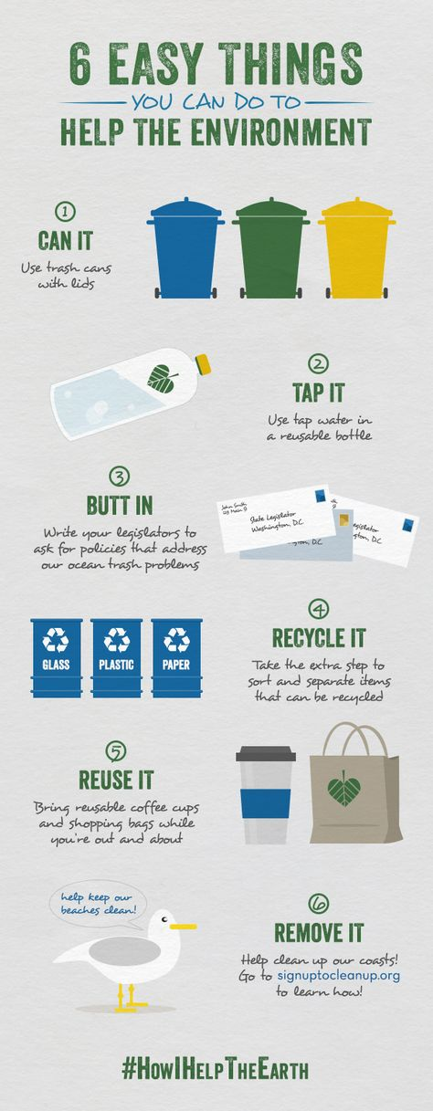 6 Easy Things You Can Do To Help The Environment