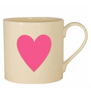This is so adorable. I want one! This mug with a good hot chocolate drink in it can be my date on Vday! Lol