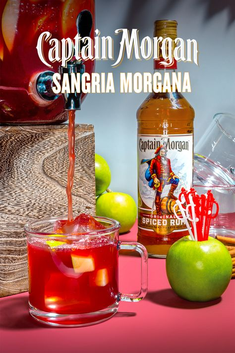 We Re Calling It Right Now The Tailgate Cocktail Recipe Of The Fall Season Is Officially A Pitcher Of Captain Morgan S Spiced Rum Drinks Spiced Rum Ginger Ale