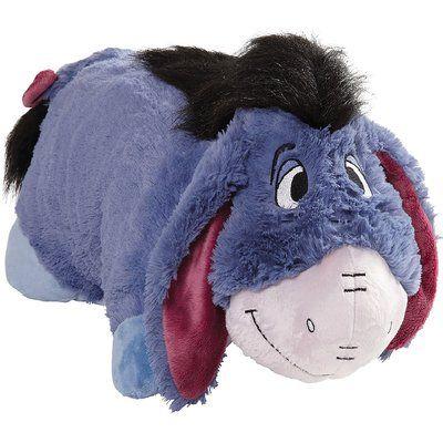 Pillowpets Disney Jumbo Eeyore Floor Pillow Animal Pillows Disney Pillows Disney Pillow Pets