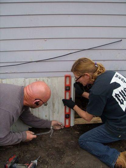 Skirting a Mobile Home   For the Home   Mobile home skirting