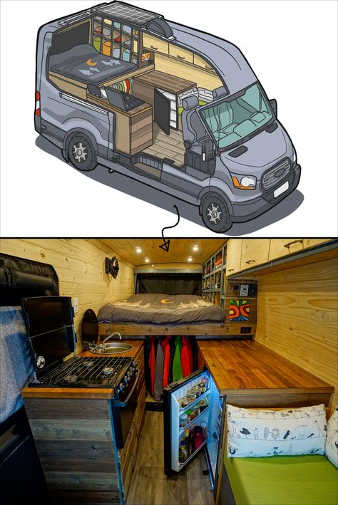 From Dream To Reality How To Build Your Van From Dream To Reality How To Build Your Van FarOutRide faroutride DIY Van Conversion Build Journal Definitive guide to DIY nbsp hellip Motorhome, Kombi Trailer, Kombi Home, Bus House, Tiny House, Van Home, Camper Van Conversion Diy, Bus Life, Van Interior