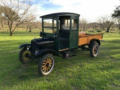 1925 Ford Model T Pickup Truck Original Model Tt Older Restoration