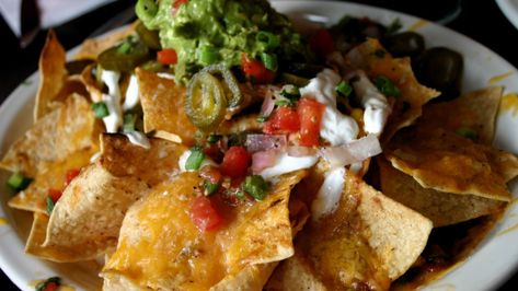 Full Loaded Cheese Nachos Recipe MAN'S BLACK BOOK