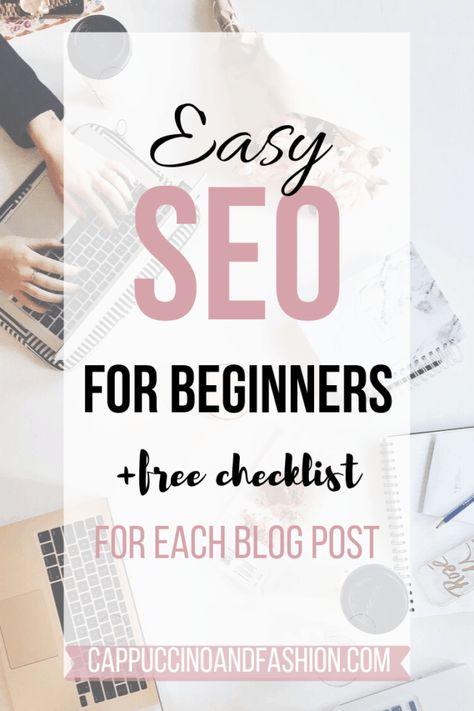 SEO for Beginners - Easy SEO Checklist