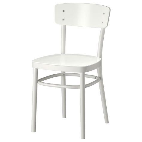 Idolf Stuhl Weiss Ikea Esszimmerstuhle Stuhle Weisse Stuhle