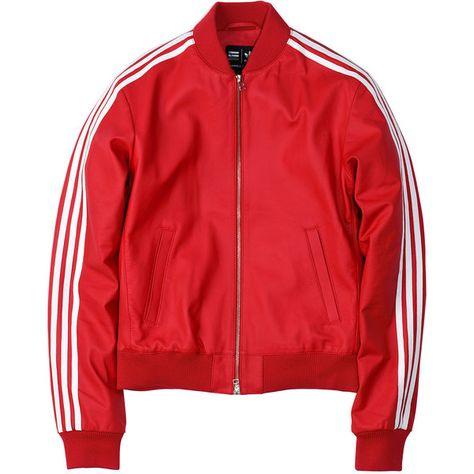 adidas Consortium x Pharrell Williams Leather Track Top