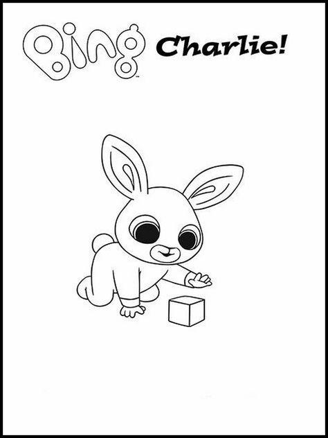 Bing Bunny Da Colorare 1 Disegni Da Colorare Disegni Bambini