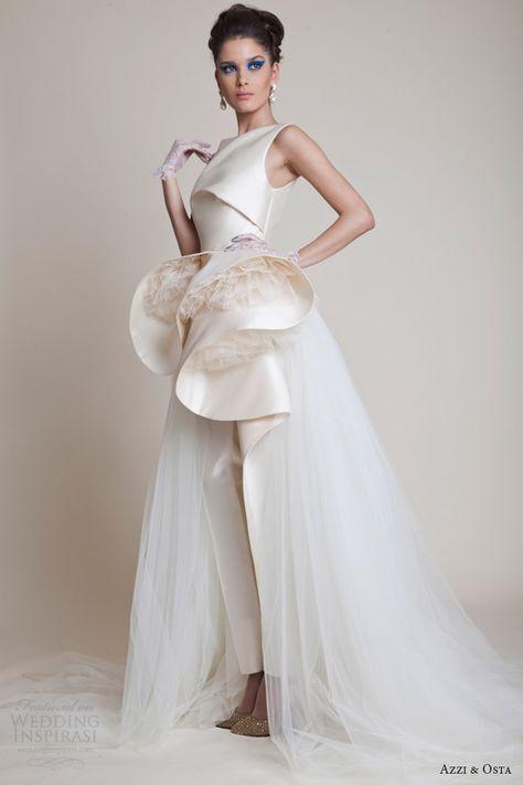 Azzi & Osta Spring 2014 Couture Collection   Wedding Inspirasi
