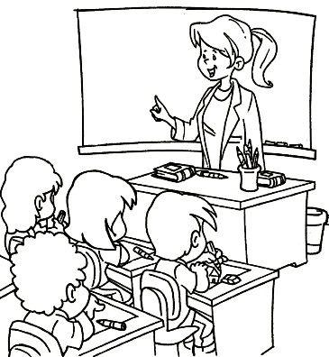 Juega A Resolver El Puzzle Del Profe Y Alumnos Gratis Oficios Y Profesiones Dibujos De Profesiones Oficios Y Profeciones