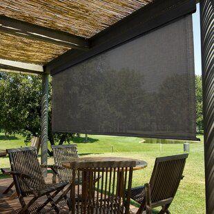Coolaroo Sheer Roller Shade Wayfair Pergola Pergola Shade Used Outdoor Furniture