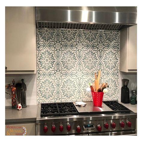 Moroccan Mosaic Tile House Atlas Handmade 8