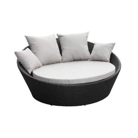 Mimosa Denarau Day Bed With Cushions I, Outdoor Furniture Cushions Bunnings