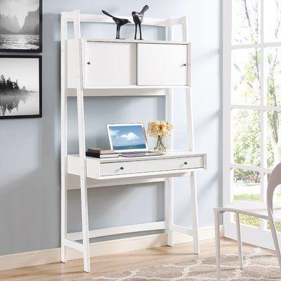 Easmor Solid Wood Ladder Desk Joss Main Furniture Wall Desk Ladder Desk