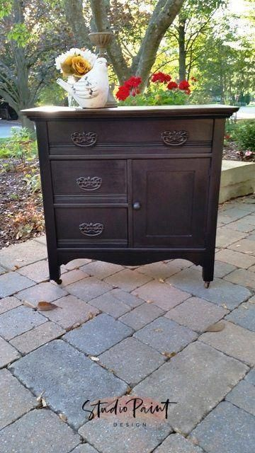Antique And Refinished Painted Washstand Furniture