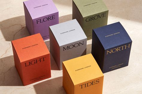 Clean candle brand, Evermore London, launches into The Conran Shop. Local ingredients, sustainably- sourced and toxin-free, Evermore London is the candle brand that is answering all of our wants. Packaging Box, Skincare Packaging, Perfume Packaging, Candle Packaging, Luxury Packaging, Print Packaging, Beauty Packaging, Cosmetic Packaging, Design Packaging