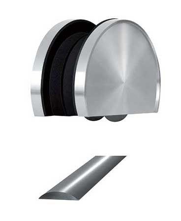 Kit Complet Roulette Au Sol Soho 2 Pour Panneau Verre : Kit Complet
