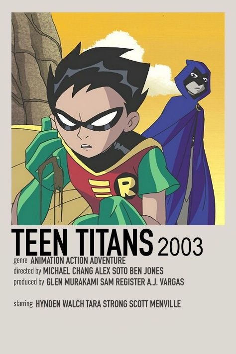 TEEN TITANS POSTER by me