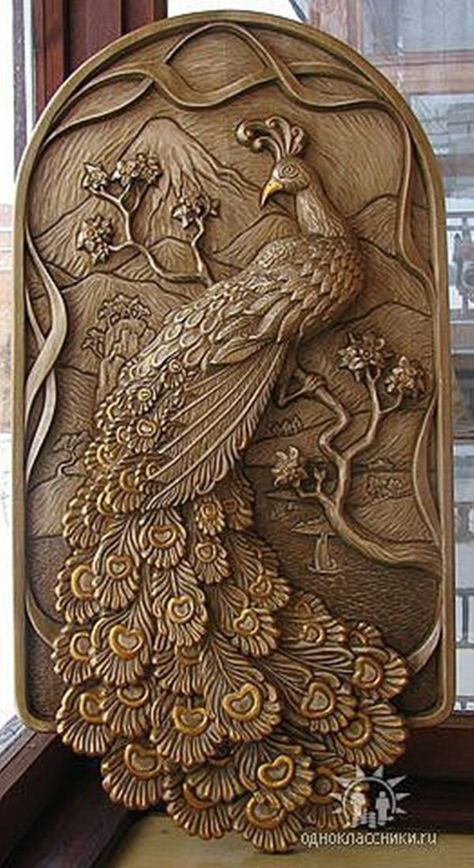 40 Easy Peacock Painting Ideas which are Useful - Bored Art Lovely lines - make with clay or carved wood. How Build a Scrollsaw Out of a Jigsaw - Artistic Wood Products classmates Source by