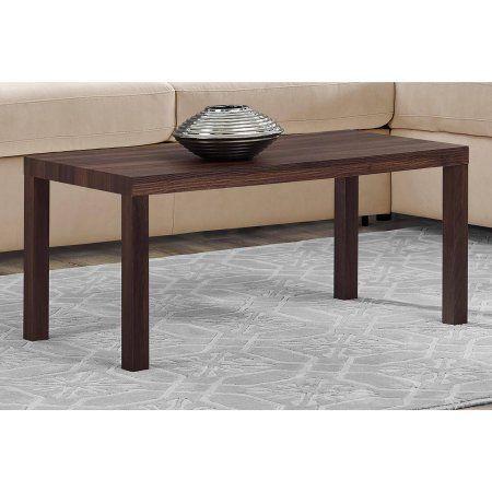 Mainstays Parsons Lightweight Coffee Table 39l X 19w X 17 5h