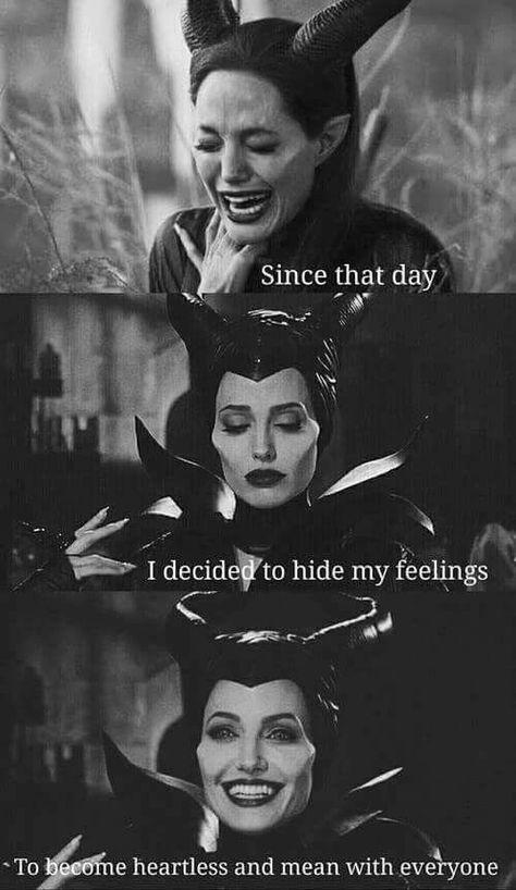 Desde aquele dia Eu decidi esconder meus sentimentos Tornar-se insensível e cruel com todos