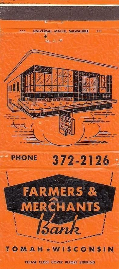 14 Farmers Merchants Bank 1 Tomah Wi Merchant Bank Bank