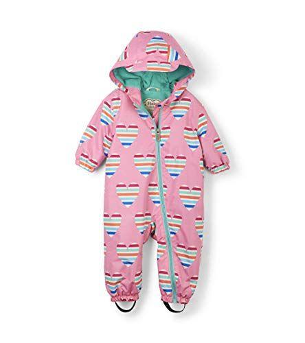 London Fog Baby Girls Midweight Fleece Lined Peplum Jacket