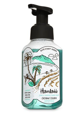 Coconut Colada Gentle Foaming Hand Soap Bath Body Works
