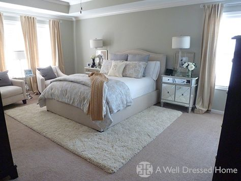 Pin By Jazmine Stouder On Bedroom In 2019 Rug Over Carpet Rugs On
