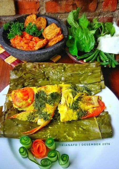 Resep Pepes Bakar Ikan Nila Bumbu Kuning By Triana Fitria Ummu Silmi Masakan Resep Resep Ikan