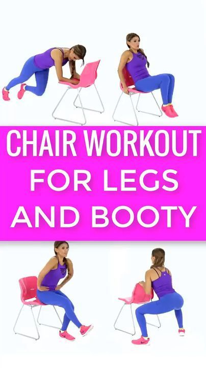 Chair Workout Without Gym Chair Gym Workout Workout Without Gym Leg Workout Fitness Body