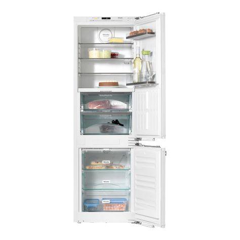 Frigorifico Combi Integrable Miele Kfn 37682 Id Con Congelador No