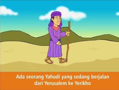 Komik Alkitab Anak Orang Samaria Yang Murah Hati Alkitab Komik Sekolah Minggu