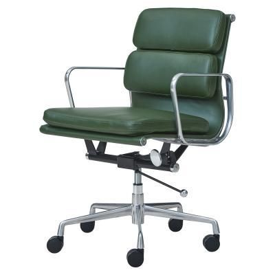 Chandel Pu Low Back Office Chair Vintage Asparagus Tampa Bay