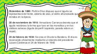 historia del escudo nacional mexicano para preescolar