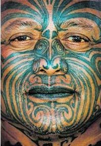 Tā moko is the permanent body and face marking by Māori, the indigenous people of New Zealand