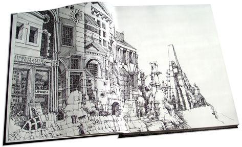 Mattias Adolfsson sketchbook