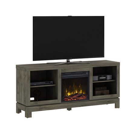 Home Electric Fireplace Tv Stand Fireplace Tv Stand Grey Tv Stand