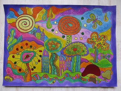Ontmoeten in woord en beeld  http://kleurrijkdagboek.blogspot.nl/search/label/plak-en-schrijf